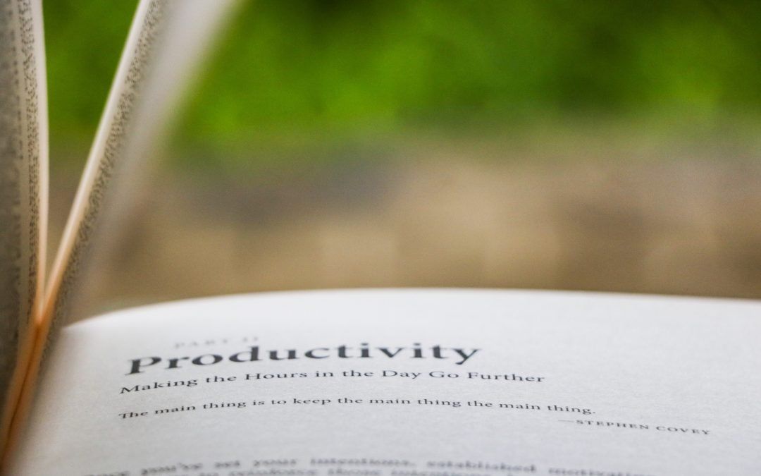 3 Easy Ways To Improve Your Productivity